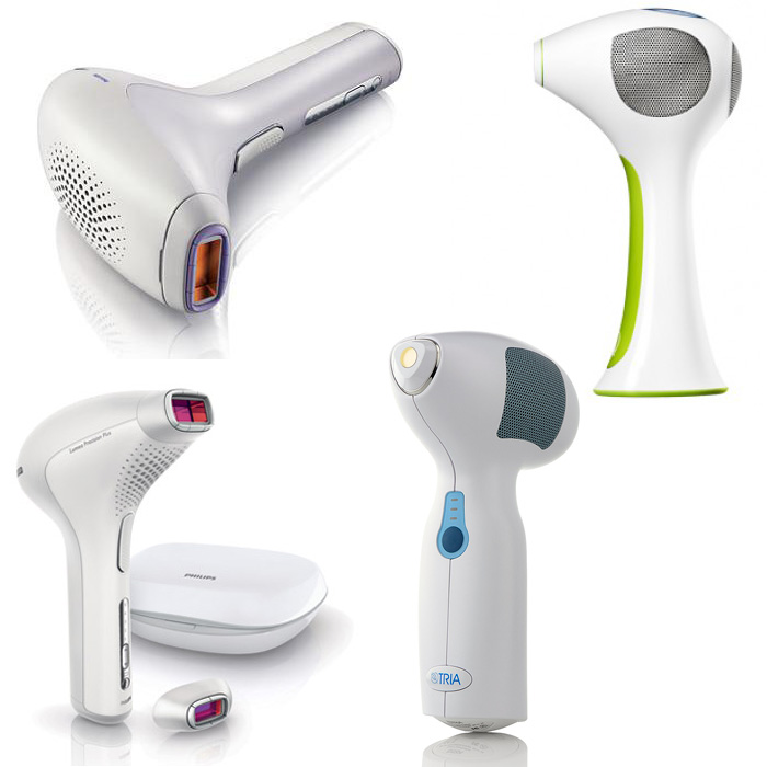 Personal laser hair removal products