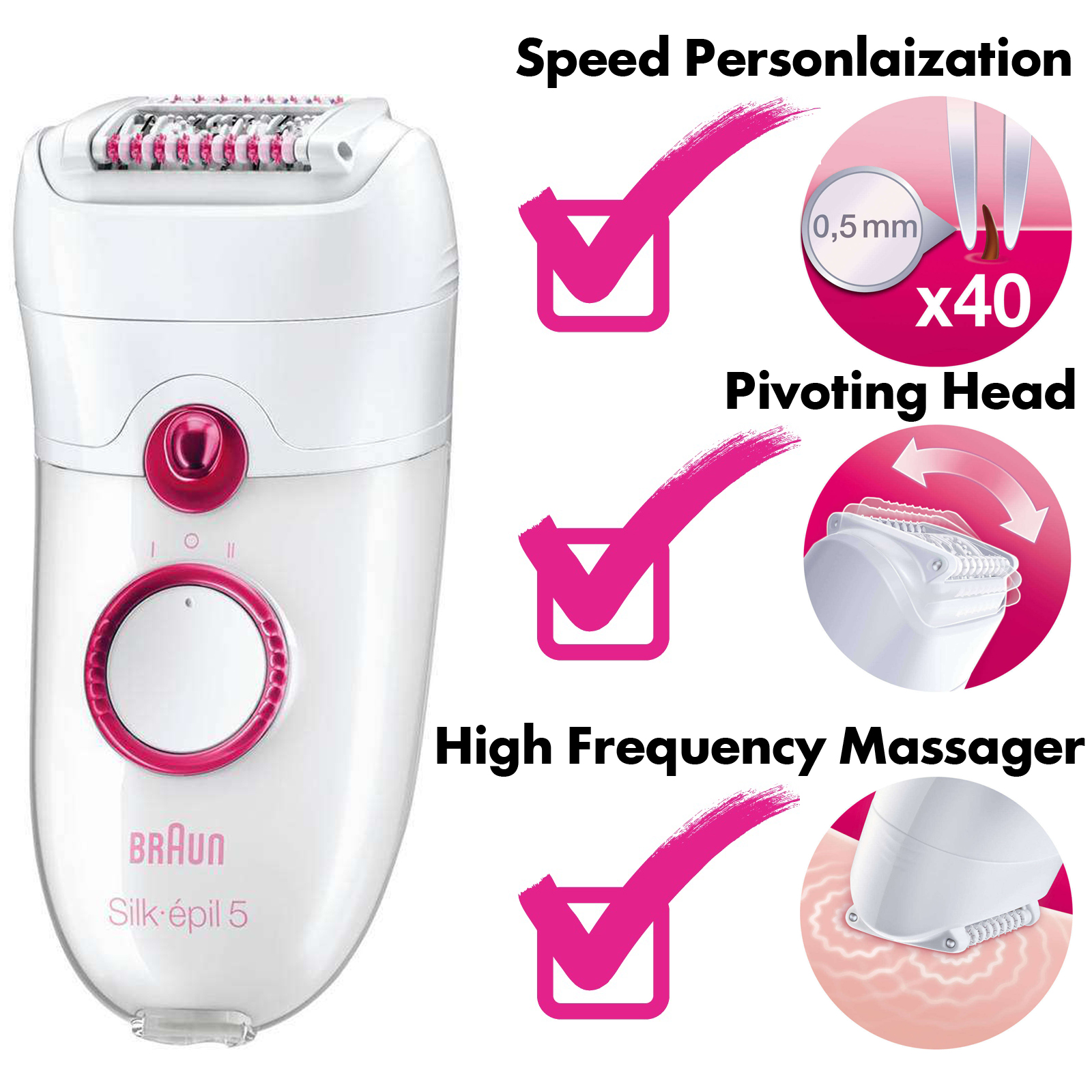 braun silk epil 5 epilator review braun 5280. Black Bedroom Furniture Sets. Home Design Ideas